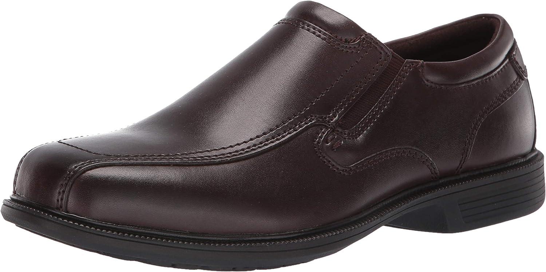Nunn Bush Mens Bleeker Street Slip on Loafer with Kore Slip Resistant Comfort Technology