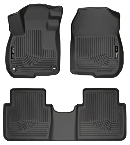 Husky Liners 99401 Black Front & 2nd Seat Floor Liners Fits 2017 CR-V