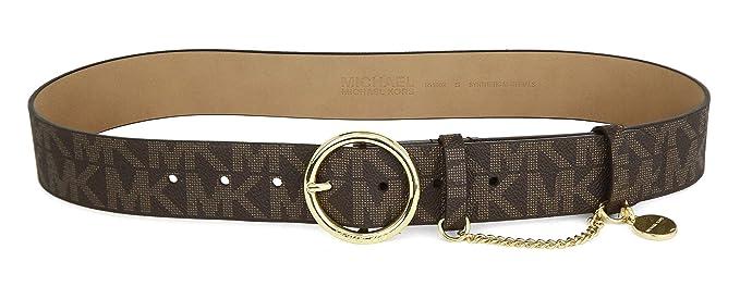guarda bene le scarpe in vendita cercare disponibilità nel Regno Unito Michael Kors Women's Belt Brown brown Size: Amazon.co.uk: Clothing