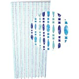 Hab gut dv019 rideau de porte cristal multicolore - Rideau de porte en perles transparentes ...