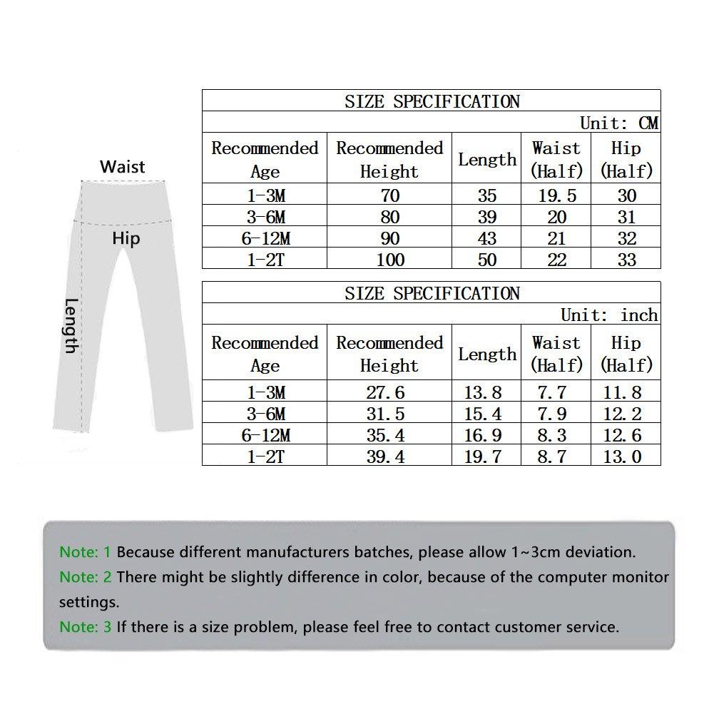 Fashion Unisex Kids Pants Cloud Printed Stretch Baby Boys /& Girls Trousers