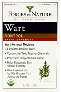 Amazon Com Forces Of Nature Wart Control Extreme Strength 11 Ml