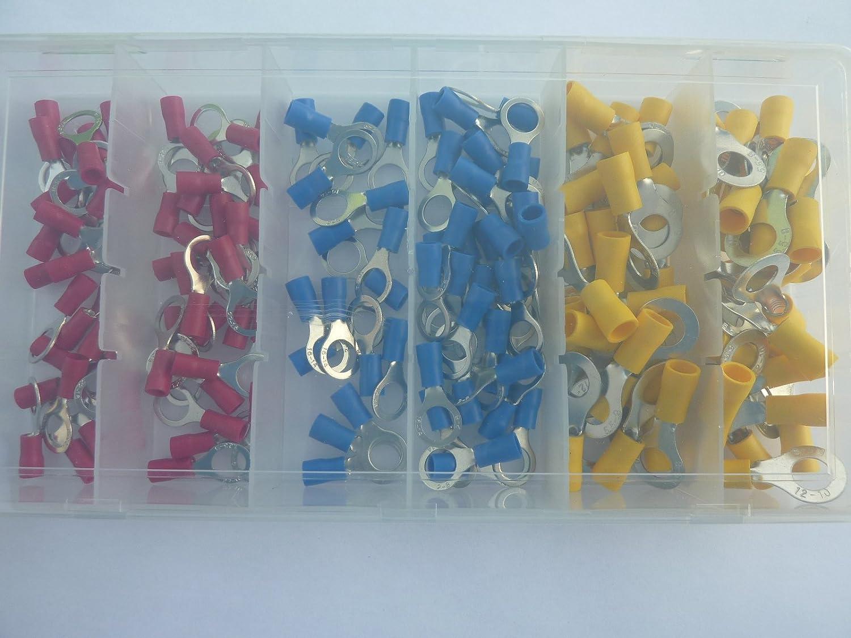 /6/mm/² SK de DV 150/Anillo Cable Guantes ringoese M8/Rojo Azul Amarillo Para Cable de 0,5/mm/²/