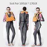 AUTO-VOX Adult Inflatable Life Snorkeling Vest
