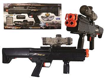 Grande juguete Rifle Paintball con agua bolas Ammo: Amazon ...