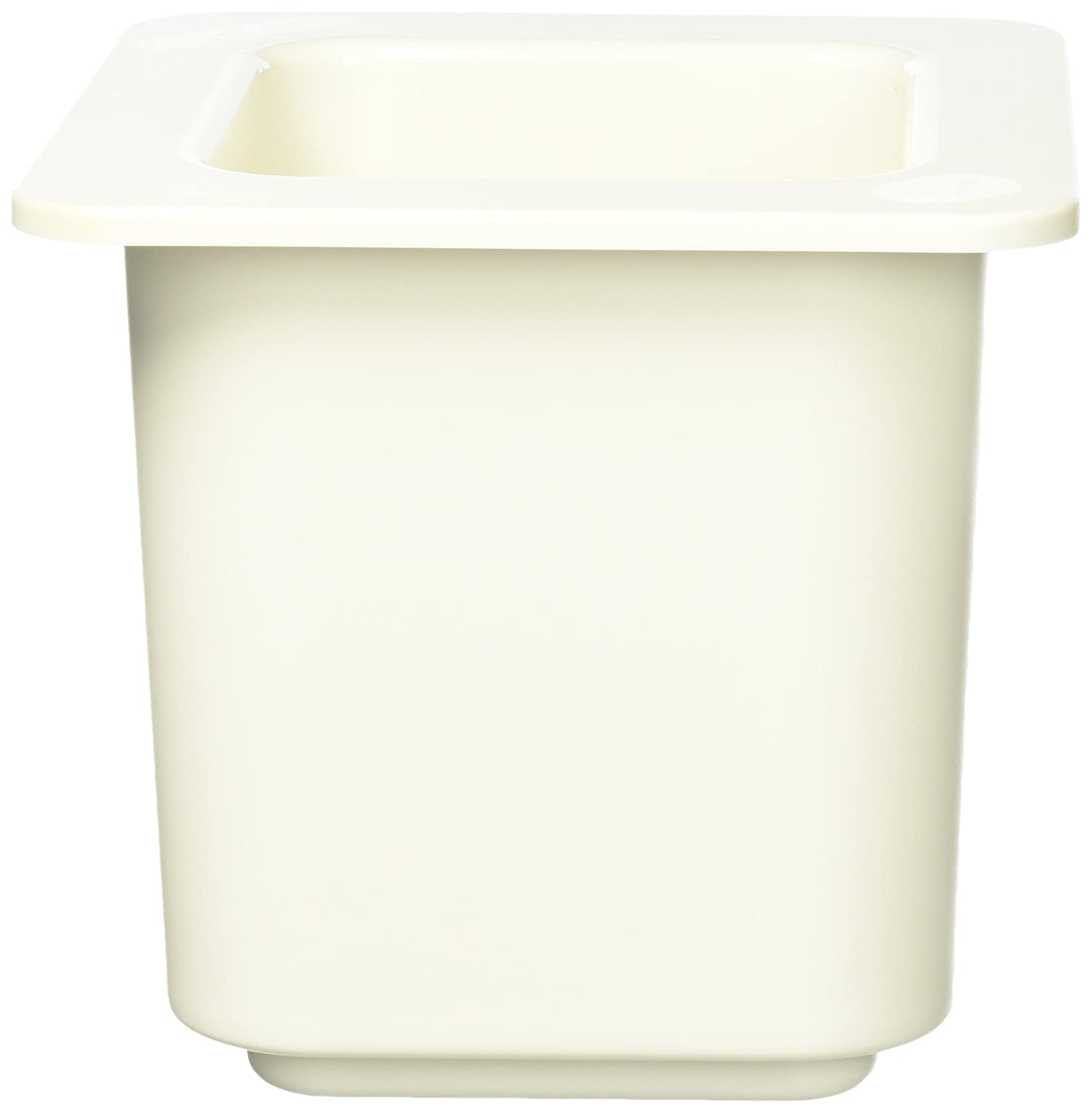 Cambro 66CF148 ColdFest White 1/6 Size 6 H Cold Food Pan