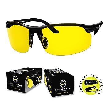 Knight Visor - gafas polarizadas antirreflejos HD visión nocturna para conducción
