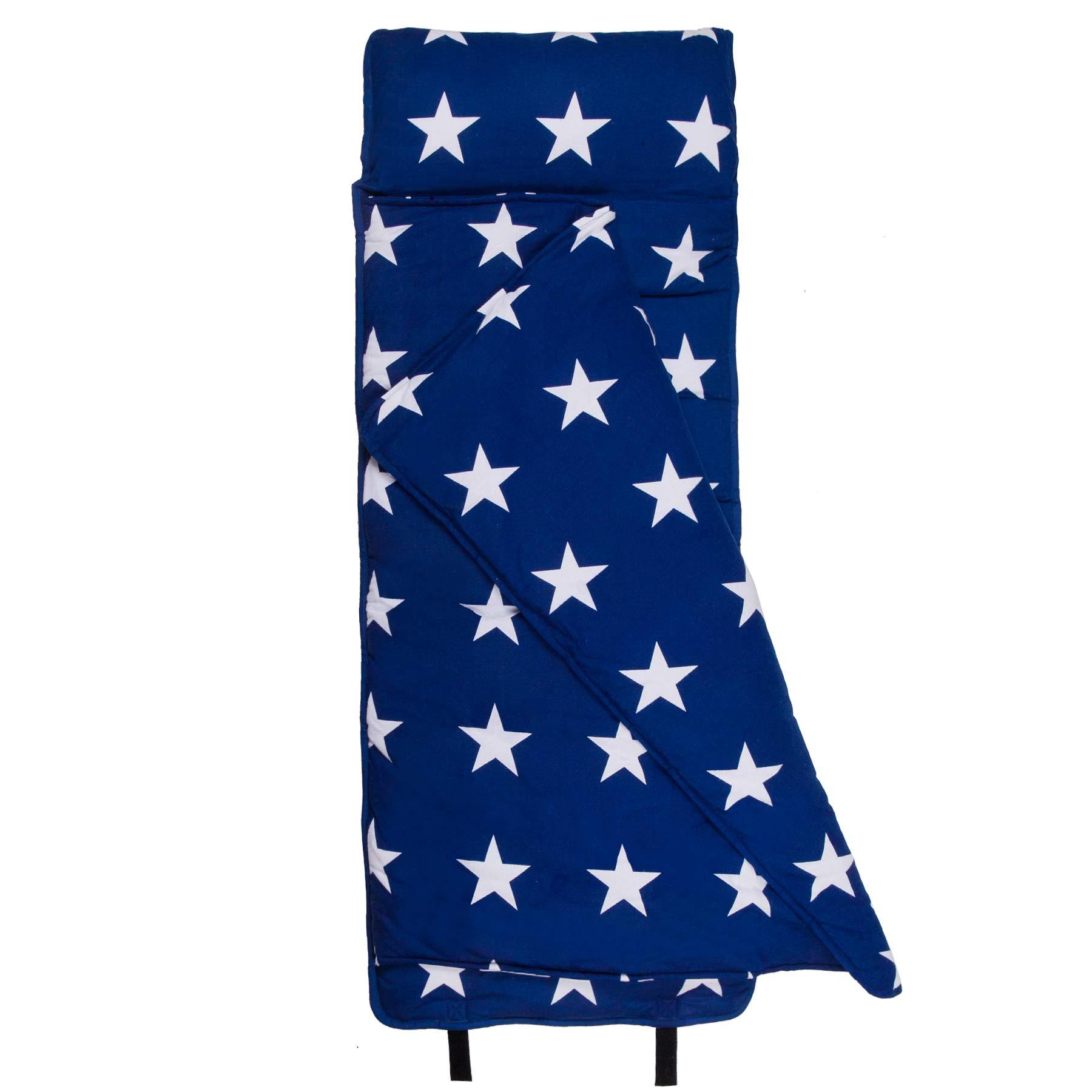 Wildkin Nap Mat, Blue & White Stars