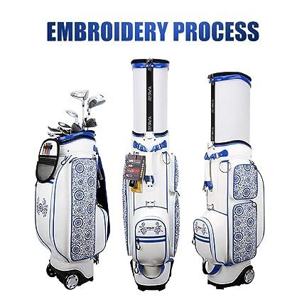Amazon.com: Crestgolf-PGM - Bolsa de golf retráctil con ...