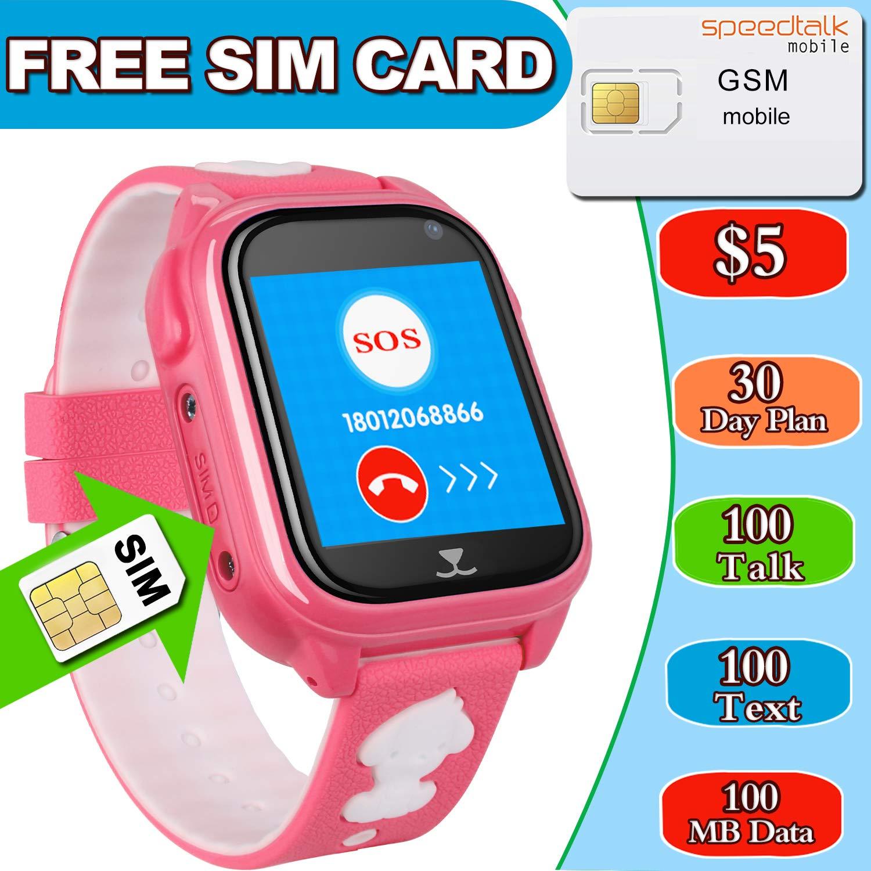 Amazon.com: Tarjeta SIM incluida reloj inteligente para ...
