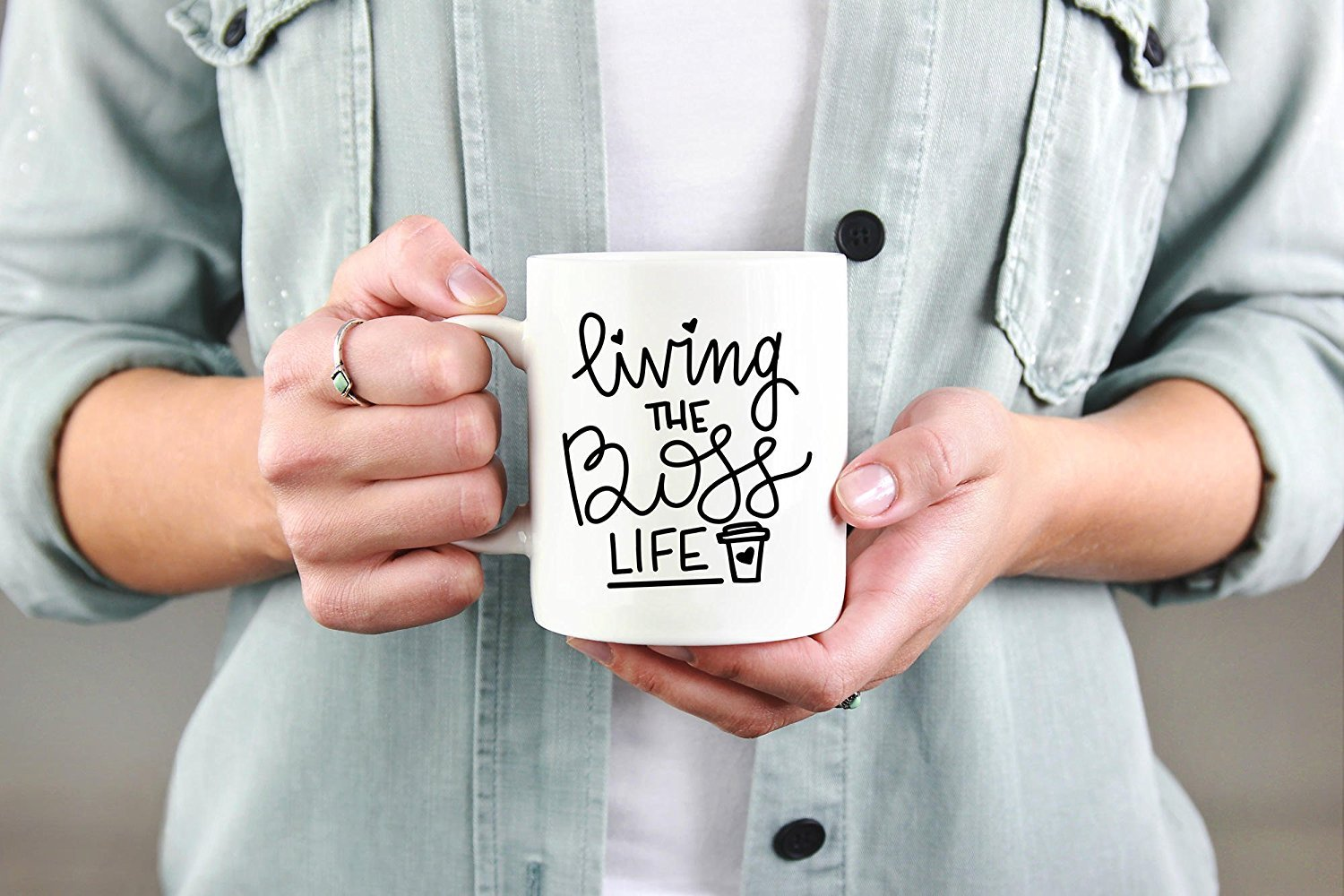 Living the Boss Life Mug, Hustle Mug, Boss Lady Mug, Boss Mama Mug, Self Employed Mug, Mugs for Her, Mugs for Boss, The Boss Mugs, Girl Gift