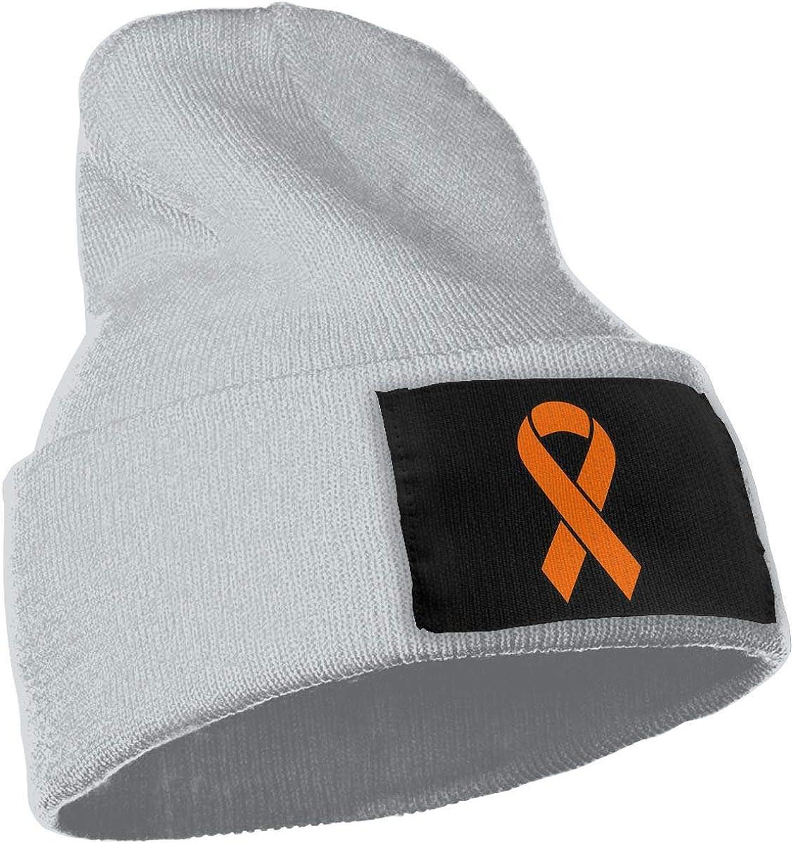 COLLJL-8 Men//Women Leukemia Ribbons Outdoor Stretch Knit Beanies Hat Soft Winter Skull Caps