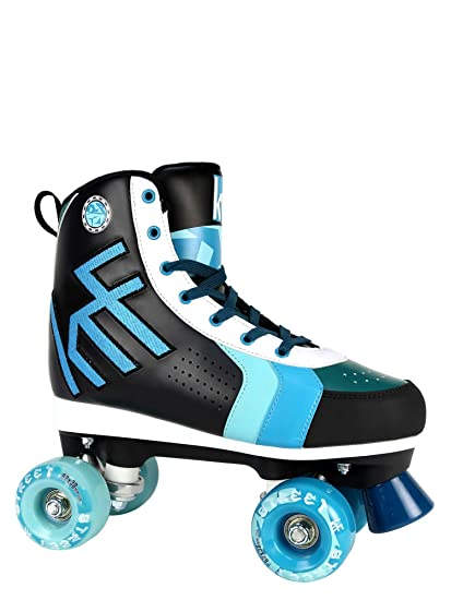 KRF The New Urban Concept Street Patines Paralelo 4 Ruedas, Azul, 36
