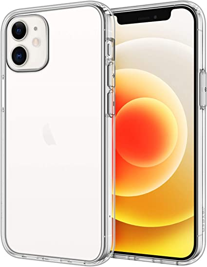 JETech Coque Compatible avec iPhone 5,4 Pouces (12 mini), étui de Protection Transparente Antichoc, Housse Case Cover Anti-Rayures, HD Clair
