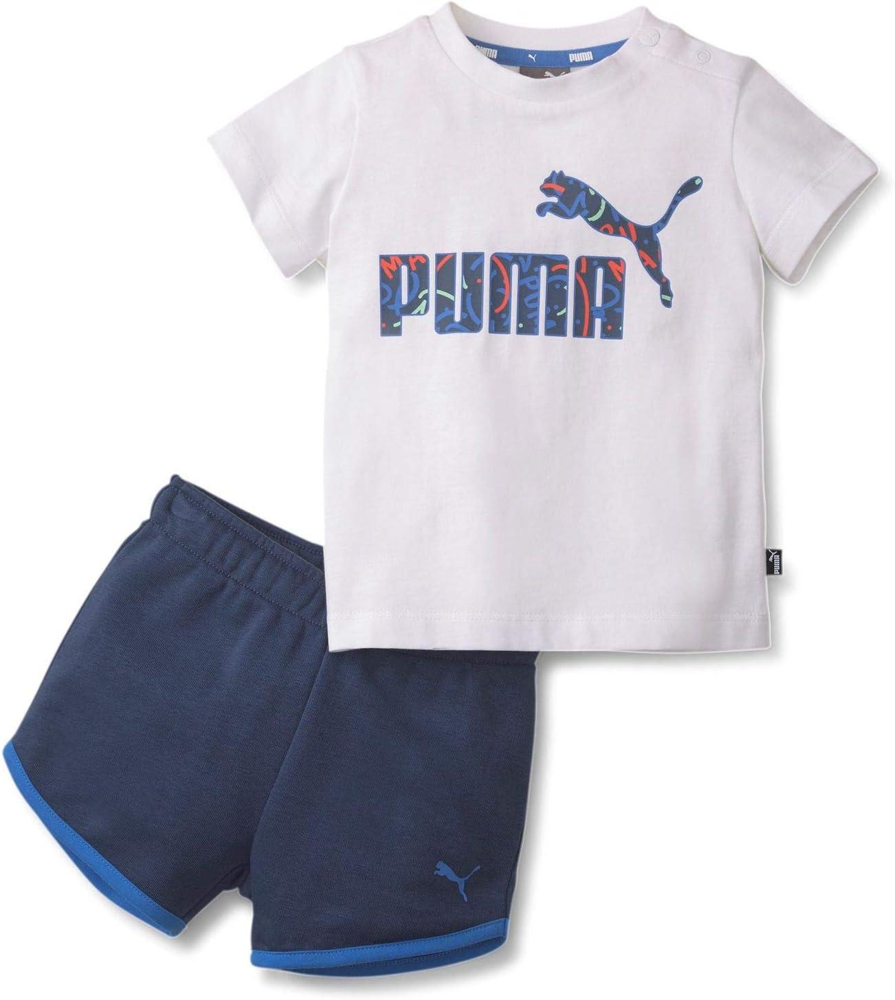Puma Minicats Alpha Set Chándal, Unisex niños, White, 74: Amazon ...