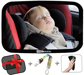 Amazon.com: Espejo retrovisor para asiento de bebé, visión ...