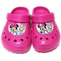 Zuecos Minnie Mouse Disney para niñas - Zuecos Minnie Mouse y Daisy para Playa o Piscina