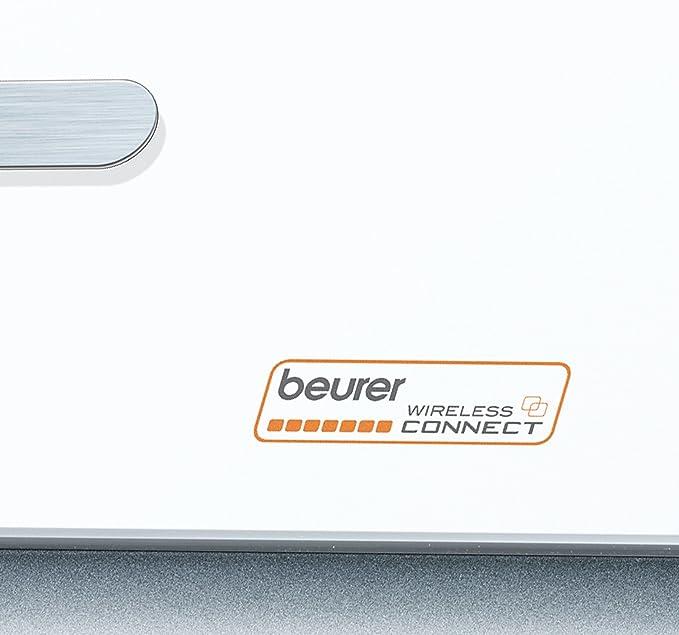 Beurer BG-900 - Báscula de baño diagnóstica, color blanco: Amazon.es: Salud y cuidado personal