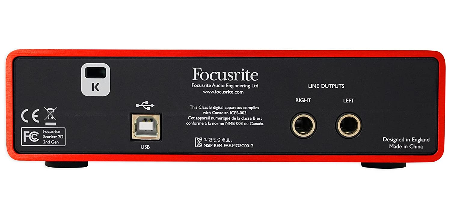 Amazon.com: Focusrite Package w/Interface+Pair 8