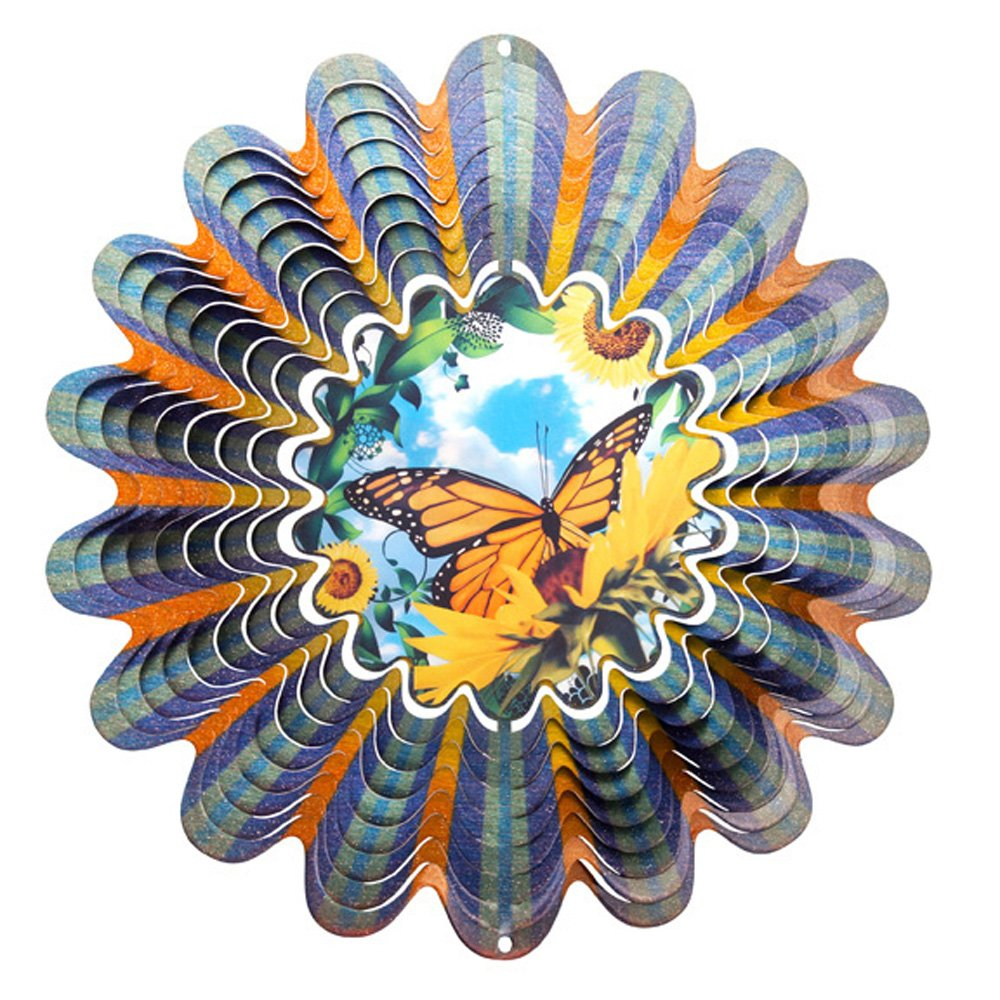 Iron Stop Animated Butterfly Wind Spinner by Iron Stop (Image #1)