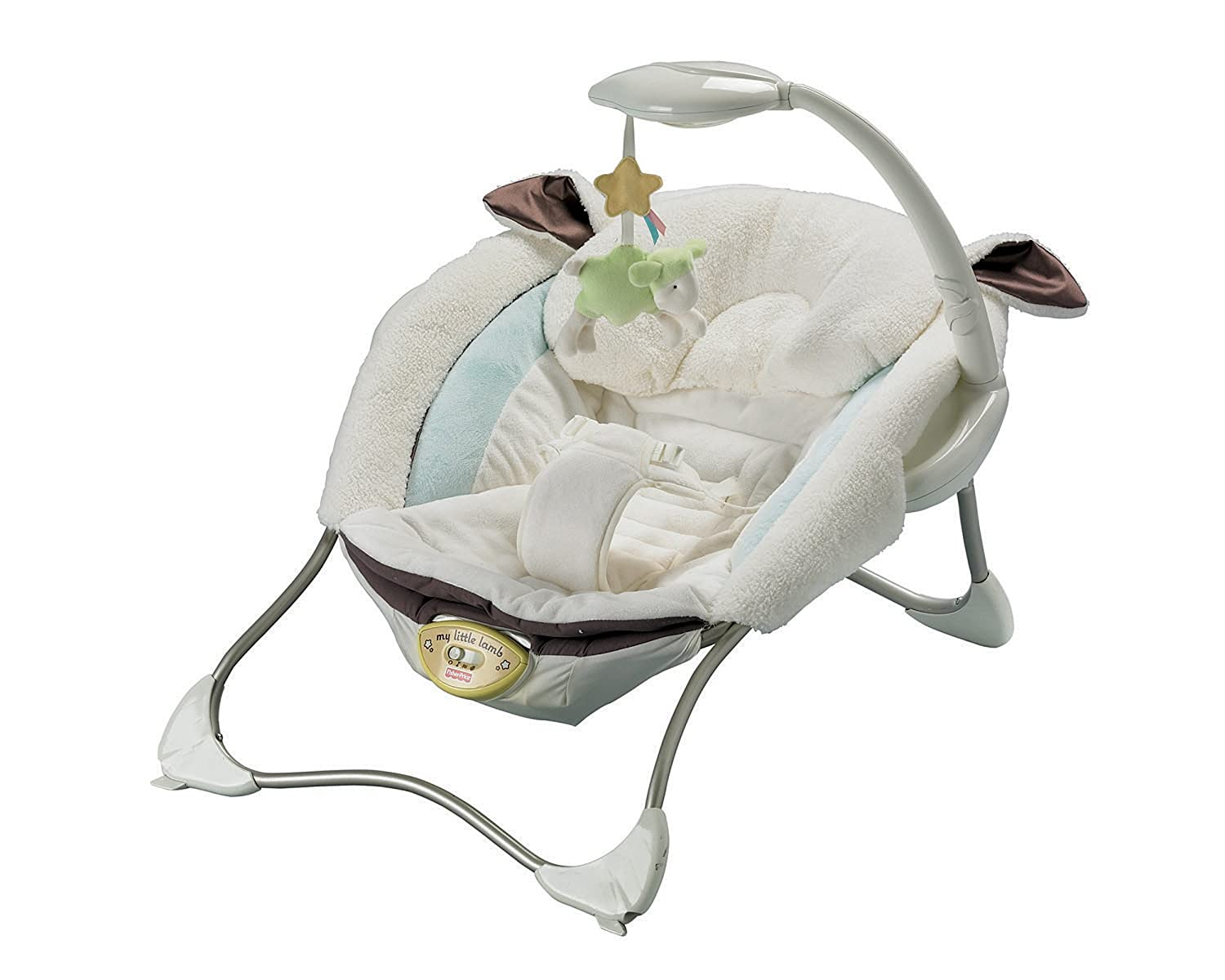 Fisher price baby papasan chair - Amazon Com Fisher Price My Little Lamb Infant Seat Infant Sitting Chairs Baby
