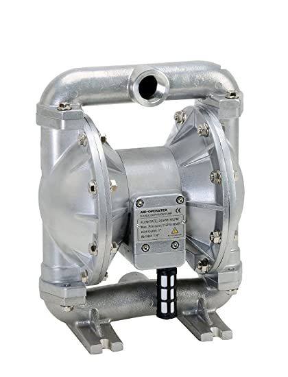 Amazon fuelworks heavy duty air operated aluminium diaphragm fuelworks heavy duty air operated aluminium diaphragm pump nitril 24gpm 1 ccuart Image collections