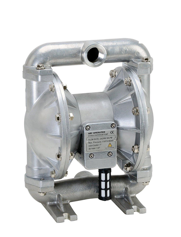 FUELWORKS Heavy Duty Air-Operated Aluminium Diaphragm Pump (Nitril- 24GPM 1'')