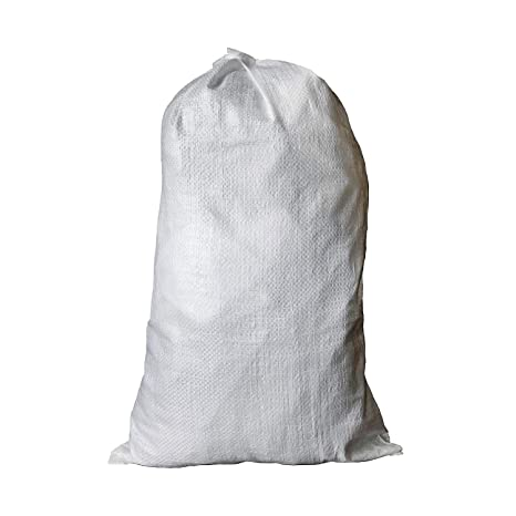 """ea02ce696c67 BISupply   Polypropylene Sandbags – 100 Pack Empty Sand Bags for Flood  Control + Canopy Tent Weights, 14"""" x 26"""" Inch"""