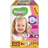 Huggies - Bimba - Nappies - Size 5 (12 - 18 kg) - 2 x 42 Nappies