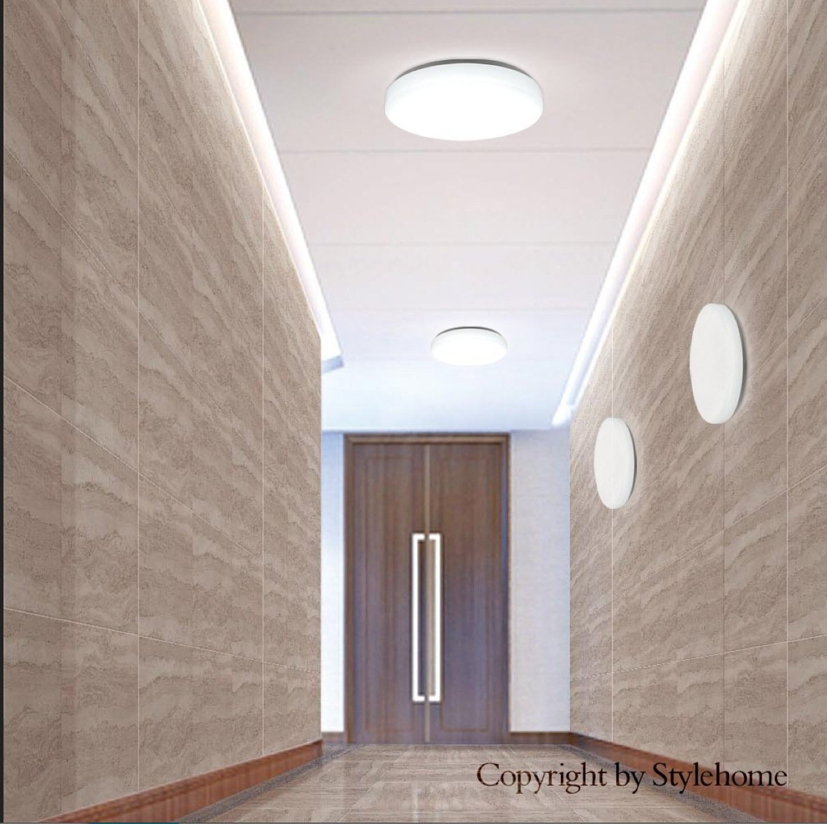 Latest Style Home Led Deckenlampe Wandlampe Kchenlampe Diele Kche  Badezimmer Xwarmwei W Amazonde Beleuchtung With Wandlampe Badezimmer.