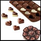 Generic Heart Shape Silicone Chocolate Cake Jelly Candy Mould Exclusive to Risai Enterprise. (15 Heart Mold) - Exclusive to RISAI