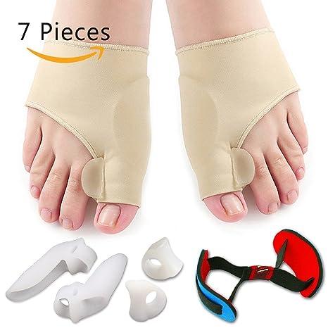 Corrector de juanetes y kit protector de mangas de alivio de juanetes: tratamiento del dolor