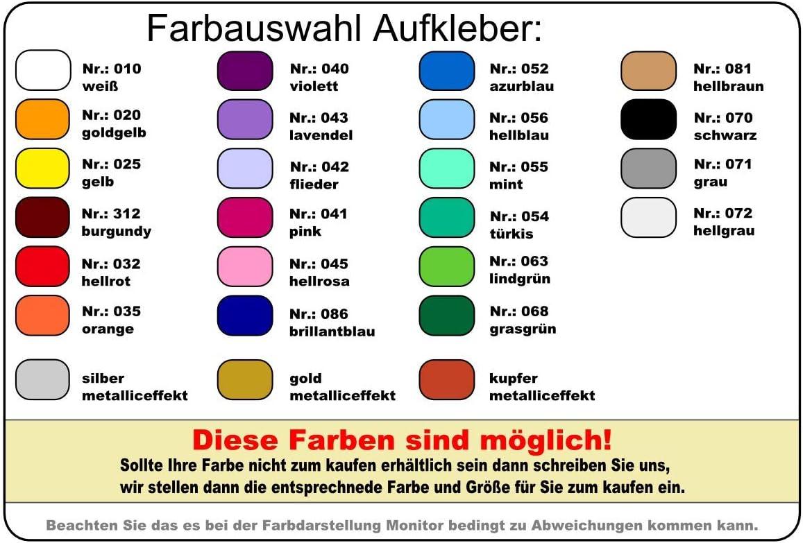 Samunshi Bodensee Aufkleber In 8 Größen Und 25 Farben 10x5 4cm Silber Küche Haushalt