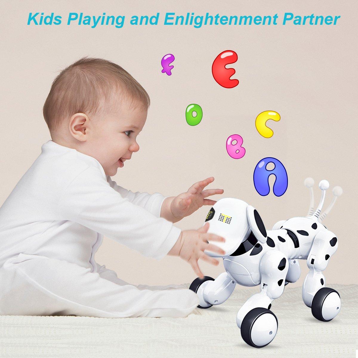 AOSENMA Robot Dog,Wireless Control RC Smart Dog /& Toys,Funny Toys for Kids