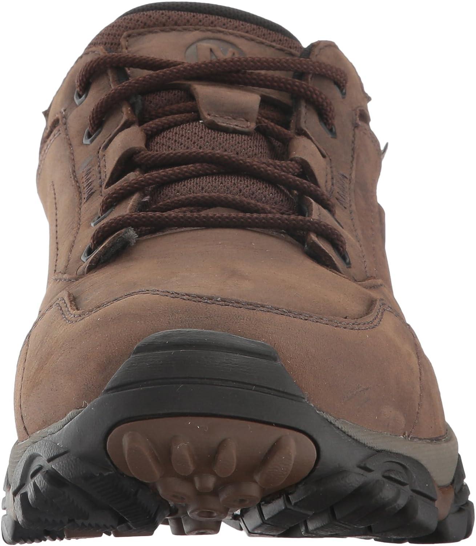Merrell Men's Moab Adventure Lace Waterproof Hiking Shoe Dark Earth