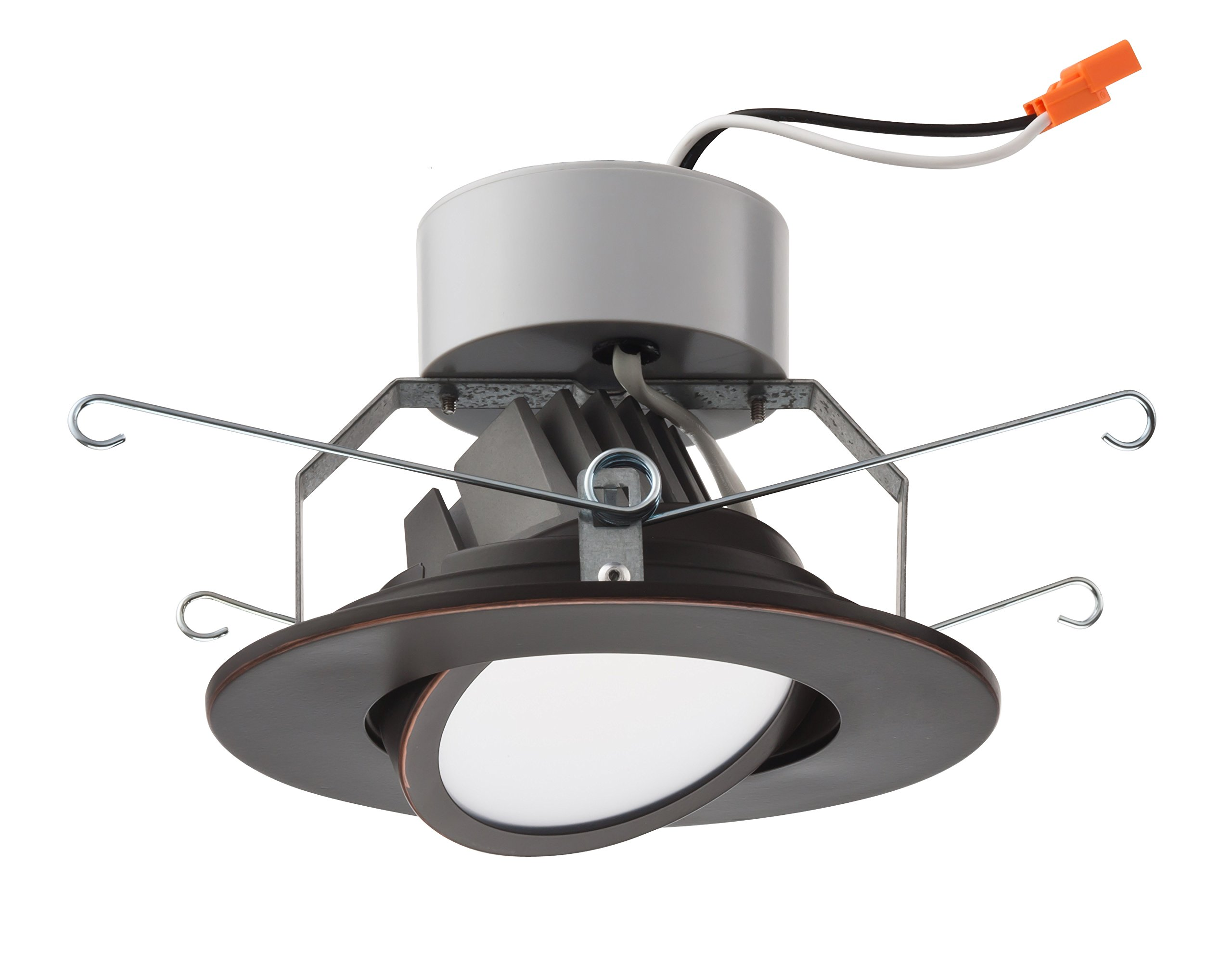 Lithonia Lighting 5 Inch LED Gimbal, Oil Rubbed Bronze, Higher Lumen Version