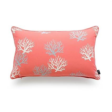 Amazon Hofdeco Decorative Outdoor Lumbar Pillow Cover Water Unique Decorative Outdoor Lumbar Pillows