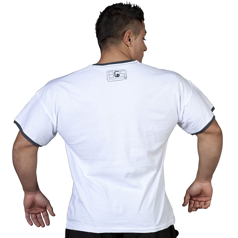 BIG SAM SPORTSWEAR COMPANY Bodybuilding Mens T-Shirt Shirt 2586