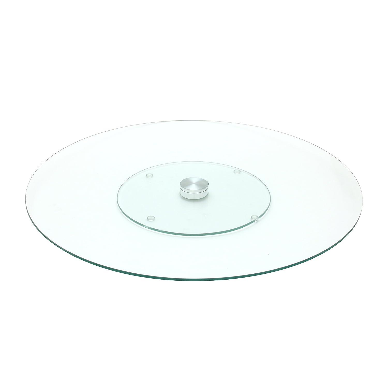 Saveur et Degustation ka1741vassoio vetro trasparente 45, 50x 45, 50x 2, 90cm CMP Paris