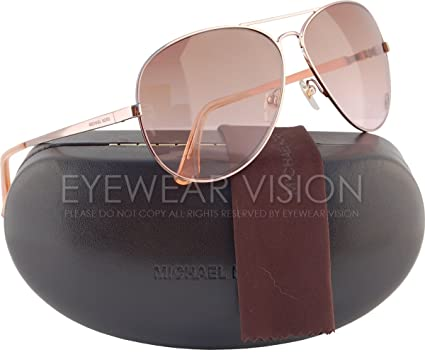cb41668880499 Image Unavailable. Image not available for. Color  Michael Kors M2058S Lola  Aviator Sunglasses ...