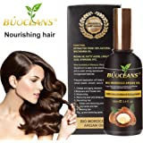 100% Organic Pure Moroccan Argan Oil 100ml - Certified - Cold Pressed - Organic Moroccan Argan Oil - For Face, Hair, Skin, Nails - Natural Premium Quality - Spray Nozzle & Pipette