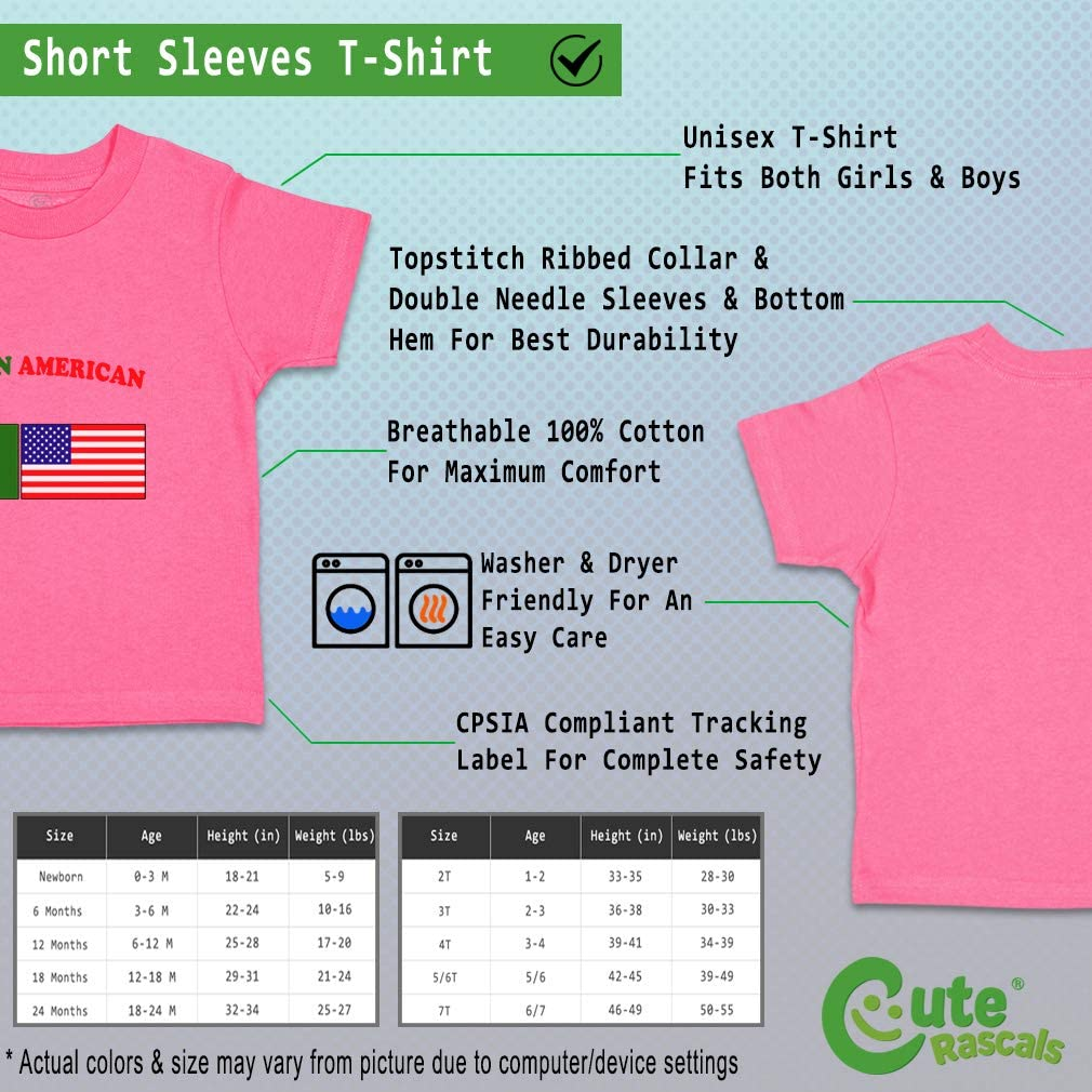 Custom Baby /& Toddler T-Shirt Turkmen American Cotton Boy Girl Clothes