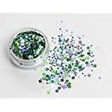 Mixed Chunky Face Eye Body Glitter Festival Clubbing Dance (Enchanted Forestt)
