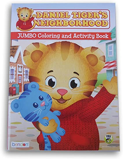 Amazon.com: Daniel Tiger's Neighborhood Coloring And Activity Book - 47  Pages: Toys & Games
