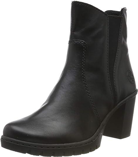 Rieker Damen Stiefeletten Y2554, Frauen Chelsea Boots 0TaBY