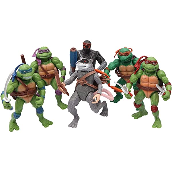 Amazon.com: Ninja Turtles 6 PCS Set - Teenage Mutant Ninja ...