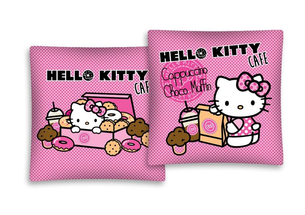 Hello Kitty almohada de 40 x 40 cm Funda de cojín (Varios ...
