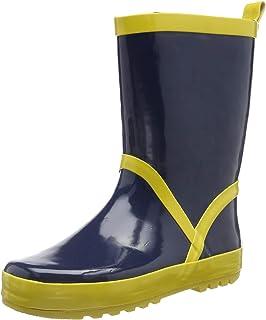 Botas de Goma de Caucho Natural Unisex ni/ños Playshoes Bota de Agua Puntos