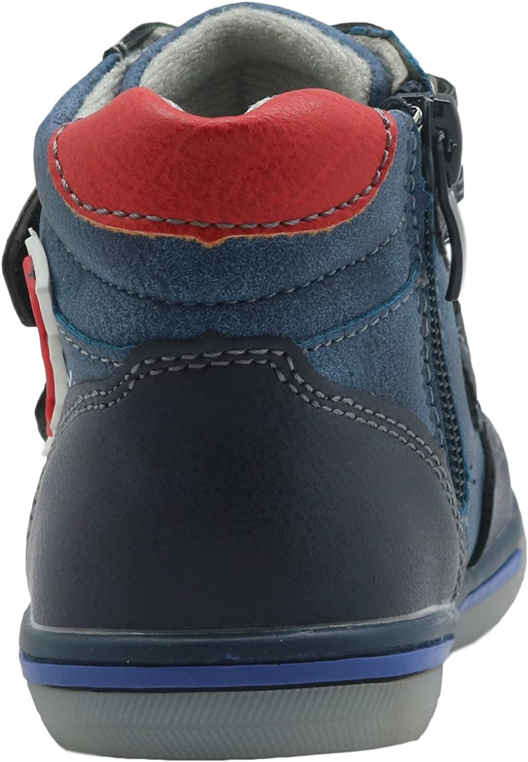 Apakowa Toddler Boys Boots High Top Sneakers