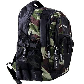 022ee1573 Mochila Monzana 34 L con 4 bolsillos estampado camuflaje con bolsillo para  portátil: Amazon.es: Equipaje
